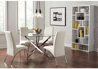 Walsh Chrome Dining Table