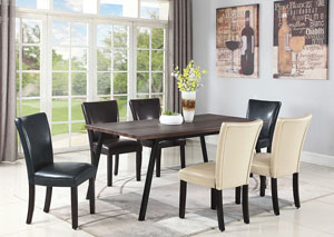 Cappuccino Dining Table,Coaster Furniture
