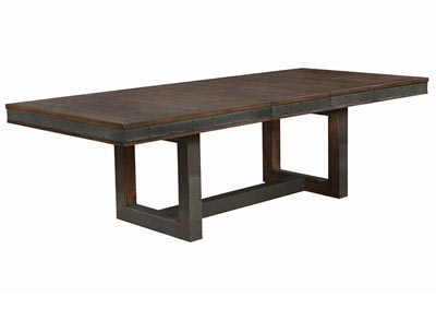 Atwater Vintage Bourbon Dining Table