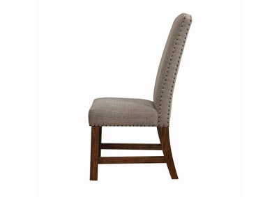 Hoosier Overstock   Indianapolis, IN Vintage Bourbon Parson Chair (2 Pack)