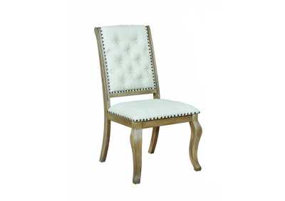 Glen Cove Cream Dining Chair (Set of 2)