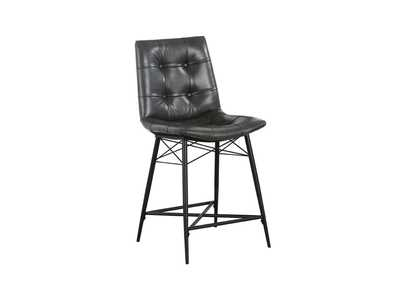 Image for Black Counter Stool [Set of 2]