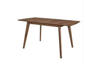 Natural Walnut Dining Table