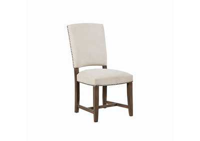 Rice Grey/Island Khaki Side Chair (Set of 2)