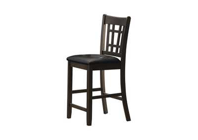 Image for Eerie Black Counter Height Chair [Set of 2]