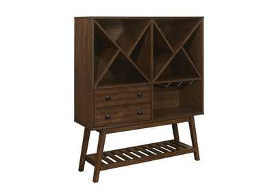 Brown Wine Cabinet
