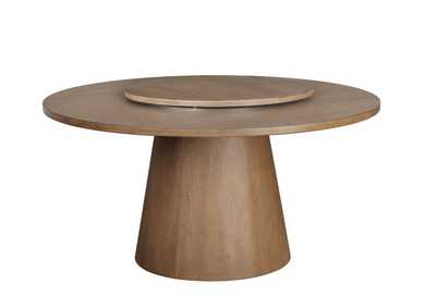 Beverly Dark Cocoa Lazy Susan
