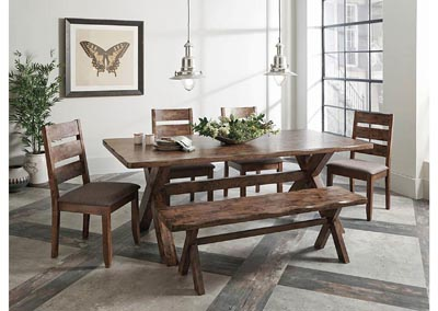 Knotty Nutmeg Dining Table