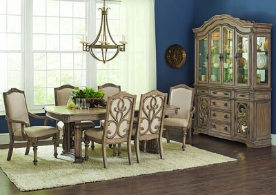 Ilana China Cabinet w/Glass Doors