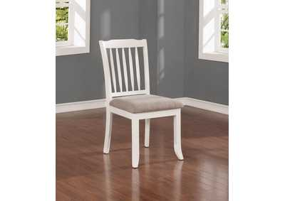 Hesperia Cottage White Side Chair (Set of 2)