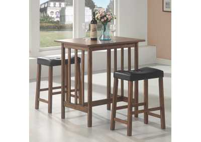 Image for Tide Casual Brown Three-Piece Table Set