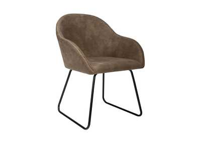 Arcadia Grey Upholstered Side Chair (Set of 2)