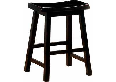 Black Counter Stool (Set of 2)
