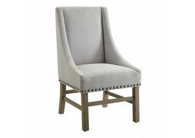 Natural/Gray Dining Chair