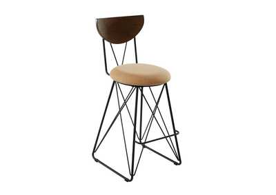 Gold Bar Stool (Set of 2)