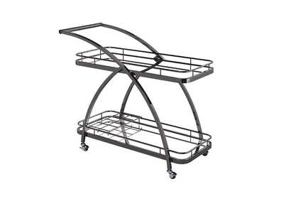 Mirror Serving Cart