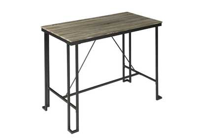 Weathered Taupe Bar Table