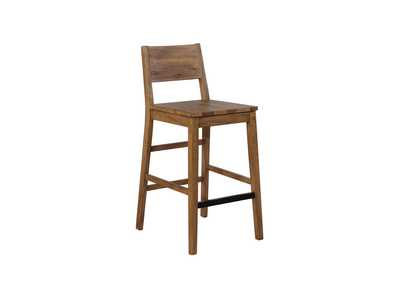 Old Copper Tucson Rustic Varied Natural Bar Stools [Set of 2]