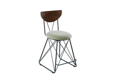 Beige Counter Height Stool