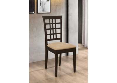 Kelso Peat and Cappuccino Side Chair (Set of 2)