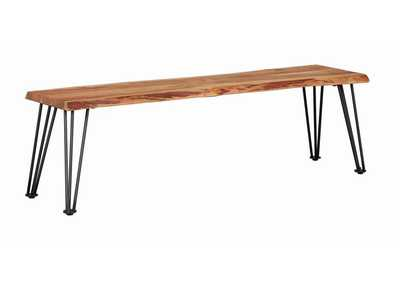 Natural Acacia Dining Bench