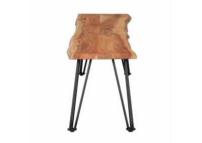 Wood/Metal Dining Bench,Coaster Furniture