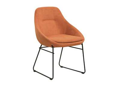Image for Persimmon Upholstered Dining Chair