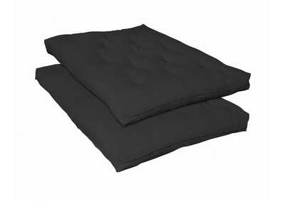 Image for Mine Shaft Black Deluxe Innerspring Futon Pad
