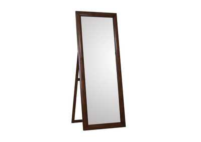 Image for Hillary Walnut Standing Mirror