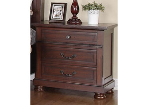 Image for Brown Cherry Nightstand