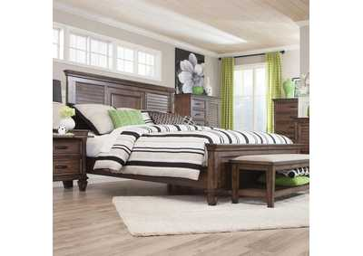 Image for Burnished Oak Franco Eastern King Bed