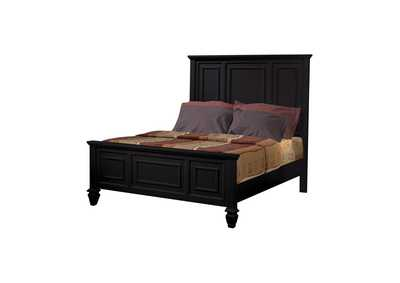 Image for Sandy Beach Black Queen Storage Bed