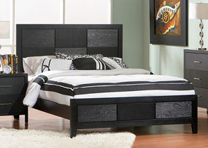 Grove Black King Bed