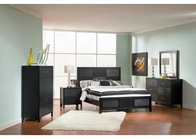 Grove Black Eastern King Bed