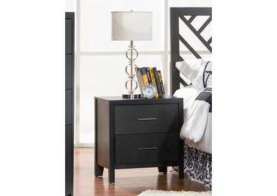 Grove Black Night Stand
