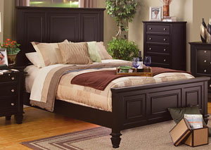 Sandy Beach Cappuccino Queen Bed