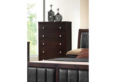 Solid Wood & Veneer Chest