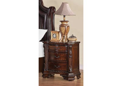 Maddison Brown Cherry Nightstand