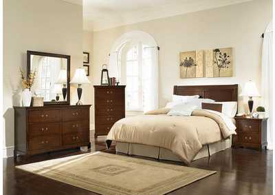 Tatiana Espresso Queen/Full Headboard