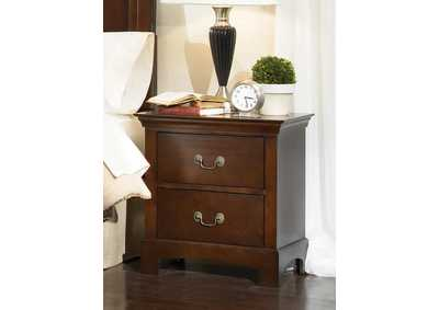 Tatiana Espresso Night Stand