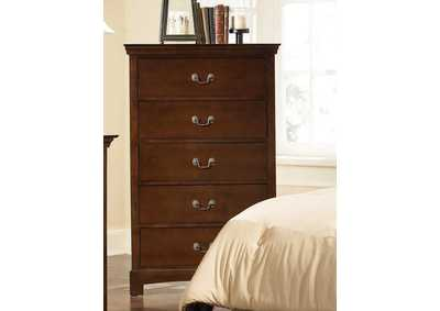 Image for Brown Derby Tatiana Transitional Five-Drawer Chest