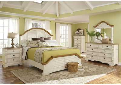 Oleta Buttermilk Queen Bed