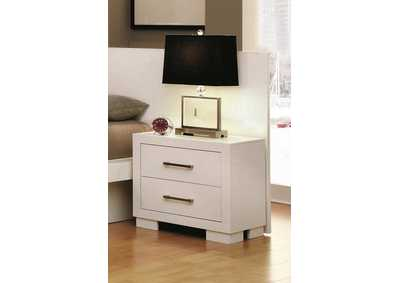 Jessica White Nightstand Back Panel (Pair)