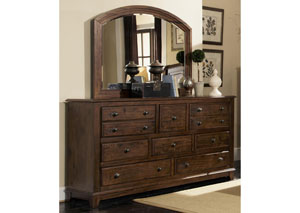 Laughton Dresser & Mirror