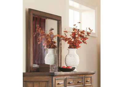 Image for Vintage Bourbon Dresser w/Mirror