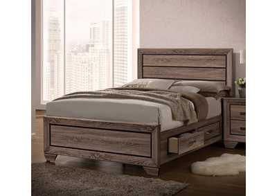 Kauffman Taupe California King Bed