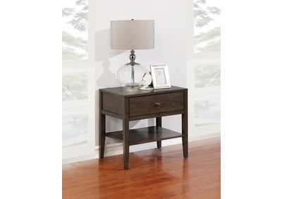 Lompoc Cappuccino Nightstand