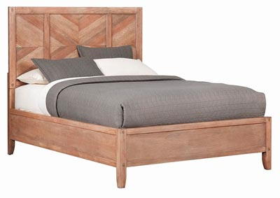 Auburn Natural Eastern King Platform Bed