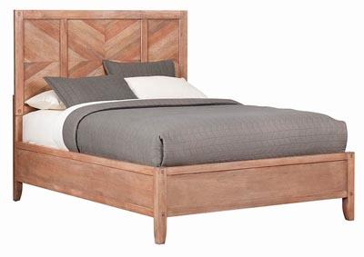 Auburn Natural Queen Platform Bed