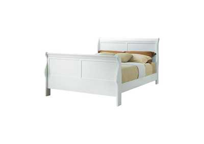 Image for Louis Philippe Traditional Youth White Queen Bed